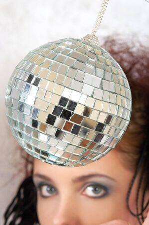 ifestyle: disco ball Stock Photo