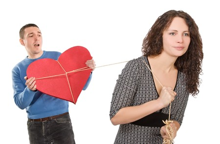 bonding rope: mans heart bounded and caught