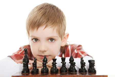 want play chess Stock Photo - 9469447