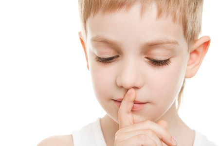 shhh sign Stock Photo - 9608861