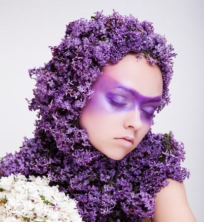 beauty girl portrait Stock Photo - 9675092