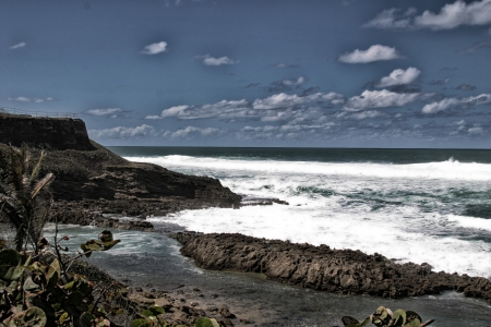 beach front: beach front