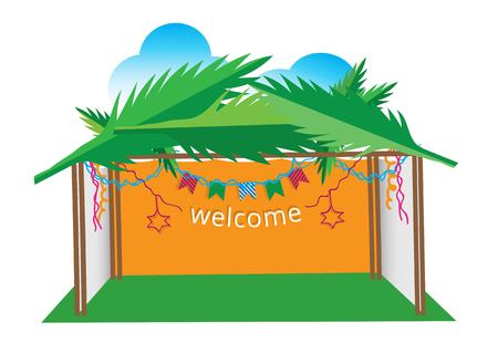 sukkah welcome illustration