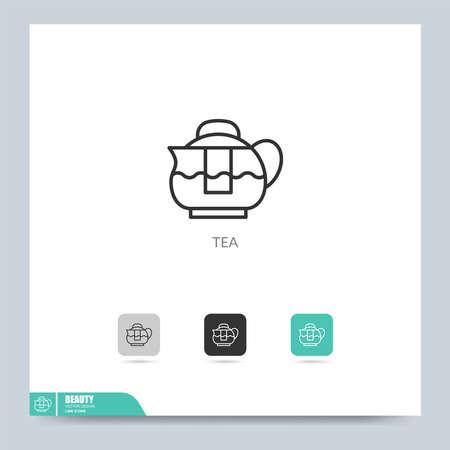 modern beauty care icon symbol logo illustration. Graphic vector design element. Design template.