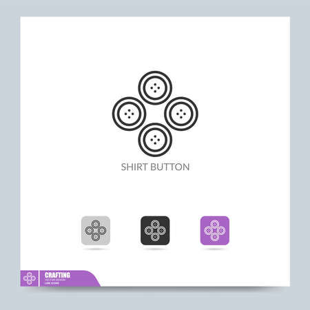 modern crafting icon symbol logo illustration. Graphic vector design element. Design Template Stock Illustratie