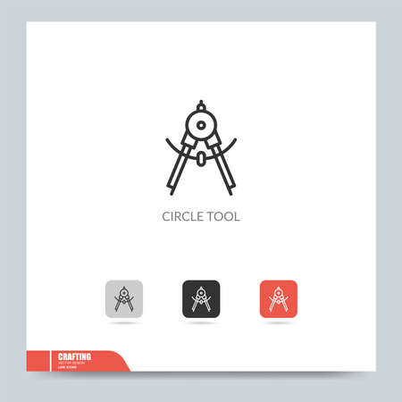 modern crafting icon symbol logo illustration. Graphic vector design element. Design Template