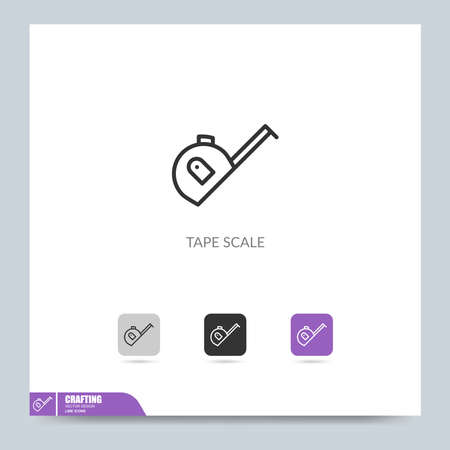 modern crafting icon symbol logo illustration. Graphic vector design element. Design Template Stock Illustratie