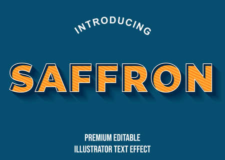 Editable text style effect. Typography illustration template. Graphic design element.