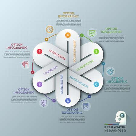 Business infographics template collection. Graphic design element. Vector illustration. Vecteurs