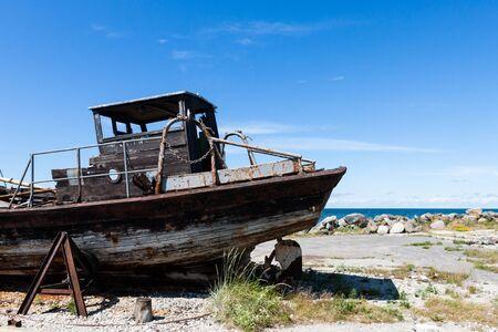 Rusty boat Stock Photo - 13133021