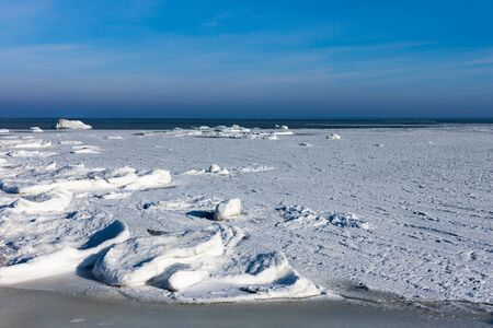 Frozen sea photo