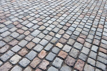 Stone road paved Stock Photo - 13286551