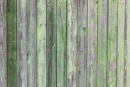 Green painted old wooden plank Stock Photo - 13323485