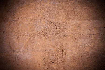 Cracked brown concrete wall texture Stock Photo - 13584679