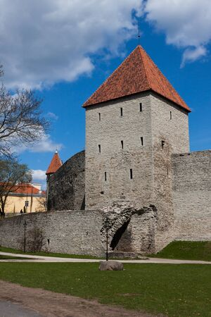 Old fortification of Tallinn Stock Photo - 13584677