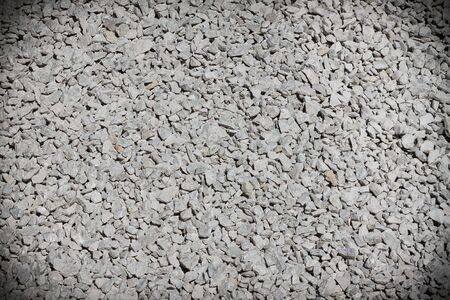 Many small grayish stones used in road construction Stock Photo - 13626388