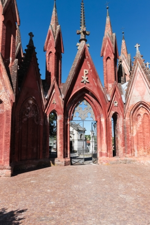Cemetery gate entrance Stock Photo - 13857014