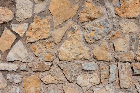 Stone made wall texture background photo