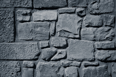 Cool vintage stone made wall texture background photo