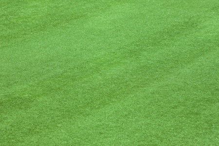 Artificial grass field side view texture background photo