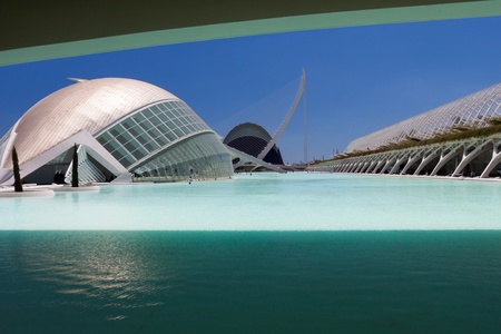 Valencia Hemispheric - City of Arts and Science, Spain