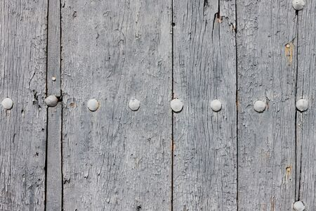 Gray painted wooden door background photo