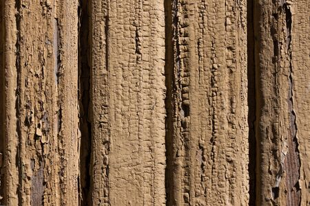 Retro weathered painted wooden wall background photo