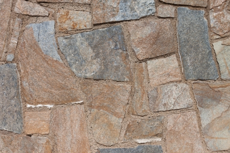 Stone ancient wall texture background tiled photo
