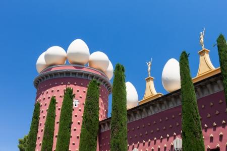 Salvador Dali museum in Figueras, Spain  Catalonia province