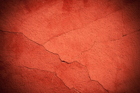 Dark red flat cracked background material texture photo