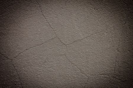 Vintage grey painted plaster wall background. Dark edged Stock Photo - 15219846