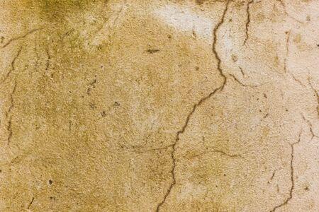 Grunge cracked plaster stone wall background. Stock Photo - 15219797
