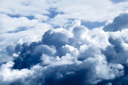 Storm clouds. The sky a background. Stock Photo - 15140864