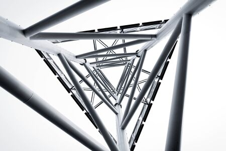 technology abstract metal structure Stock Photo - 15255180