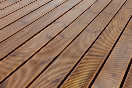 wet terrace brown wood floor background photo