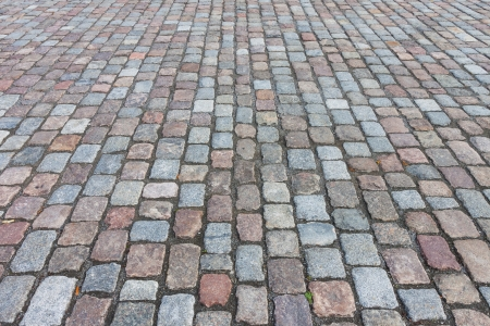 Pavement of granite in the town street Stock Photo - 15439797