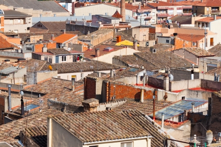 City view of buildings in Catalonia, Spain Stock Photo - 15634709