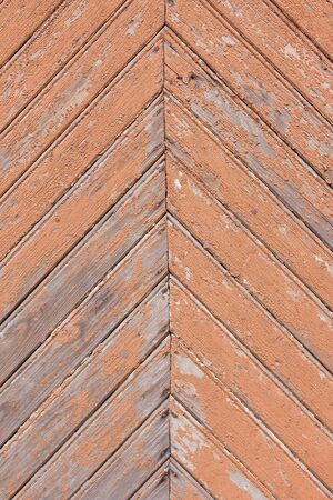 old painted wooden plank wall background Stock Photo - 16126555