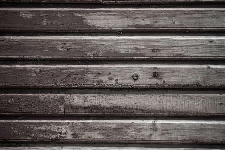 old wooden plank wall of a house  Square format Stock Photo - 16302813