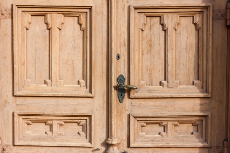 old wooden door of a house Stock Photo - 16630659