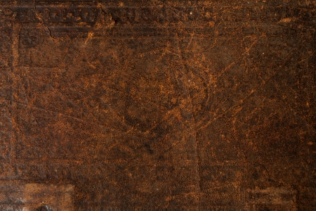 Antique Old Leather Background Texture Stock Photo