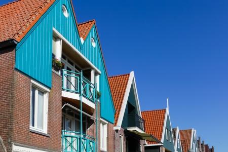 volendam: Holland, Volendam town, old stone houses