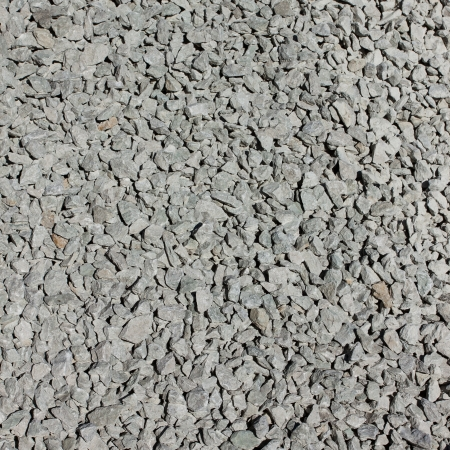 Background of a gravel stone used in construction photo