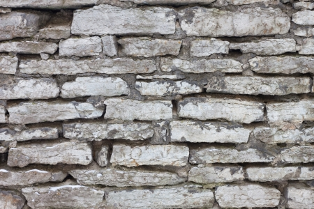 Old stone wall background texture photo