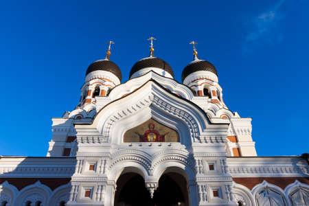 Alexander Nevsky Cathedral Tallinn, Estonia Stock Photo - 17630983