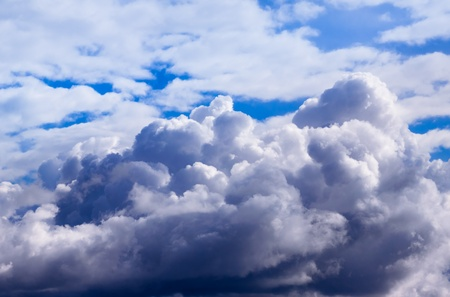 Storm clouds. The sky a background. Stock Photo - 17671021
