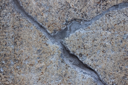 texture of old stone wall with a crack (for background) Stock Photo - 18119578