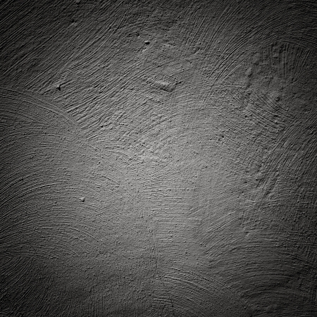 Gray brushed wall background close up texture photo
