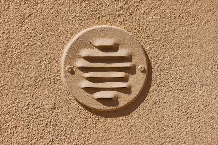 wall ventilation window - close up shot Stock Photo - 20953819