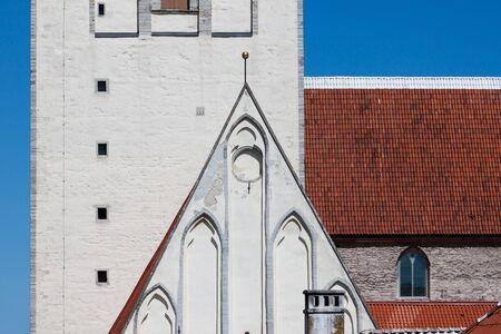 Detail of Saint Nicholas Church Tallinn, Estonia photo